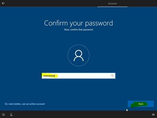 تایید مجدد پسورد password