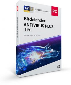 خرید Bitdefender 2020 Antivirus Plus 5PC