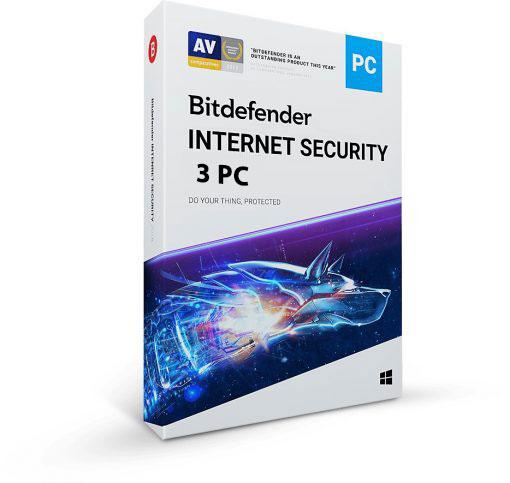 خرید Bitdefender Internet Security 3PC