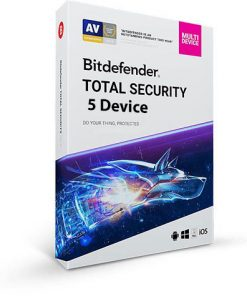 خرید Bitdefender Total Security Multidevice 5 Device