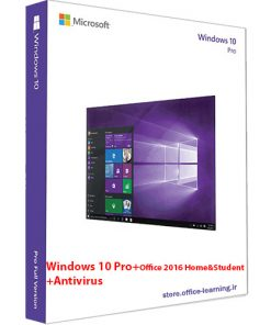 Windows 10 Pro+Office 2016 home student+Antivirus