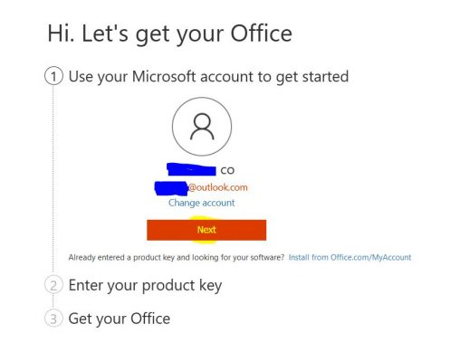 Setup Office 365 Home&Personal