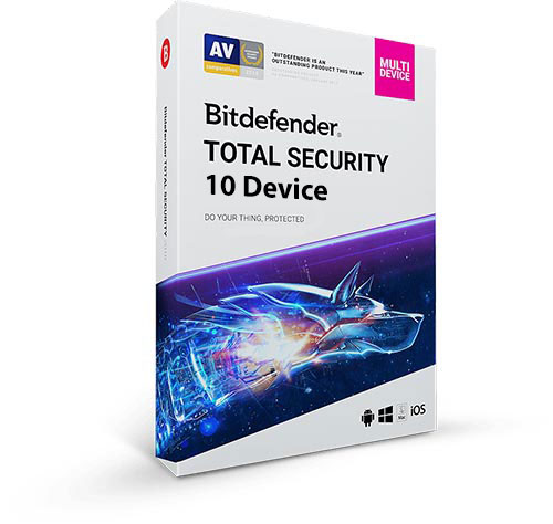 خرید Bitdefender Total Security Multidevice 10 Device