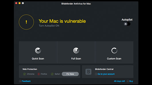 لایسنس bitdefender antivirus for mac