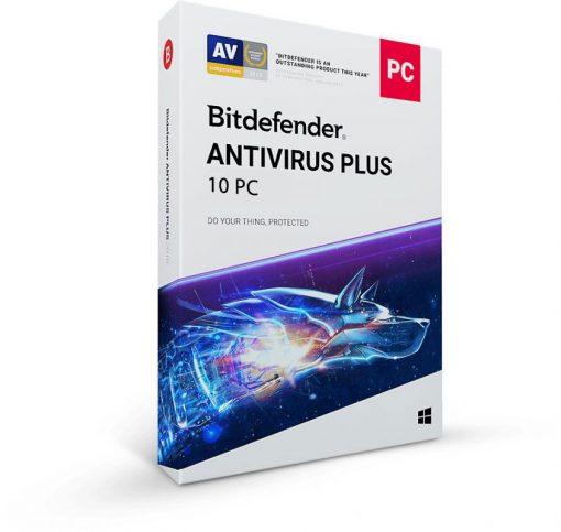 خرید Bitdefender 2020 Antivirus Plus 10PC