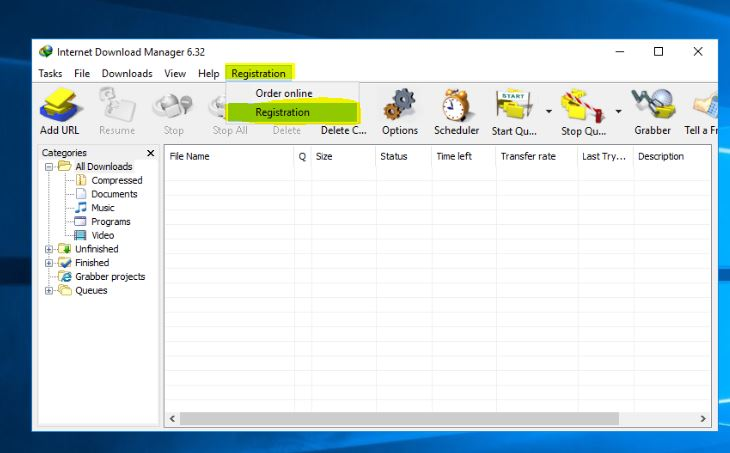 Active Internet Download Manager