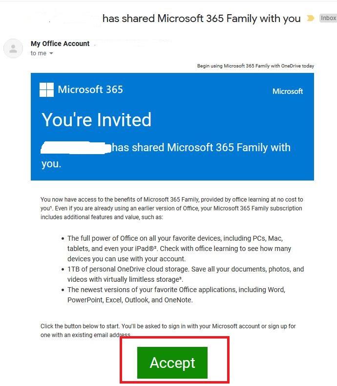 accept invite via email اکسپت ایمیل