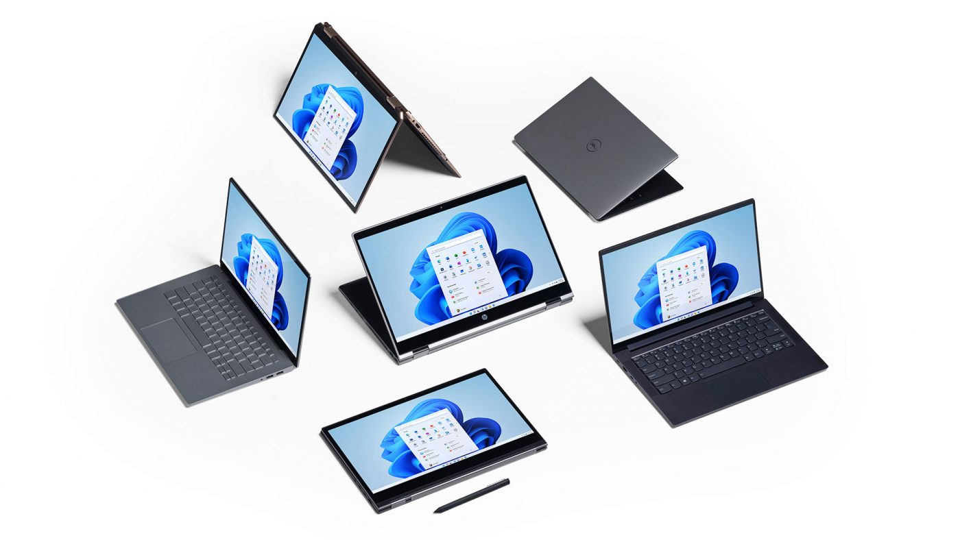سازگاری بیشتر و بهینه تر با نمایشگر های لمسی در ویندوز 11